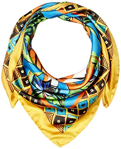 Lake Como SCARVES - Tiger Scarves - Jungle Green