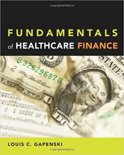 Fundamentals of healthcare finance 9781567933154 medicine health fundamentals of healthcare finance 1st edition fandeluxe Gallery
