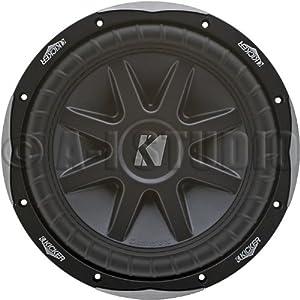 Kicker 10cvx10-4 Ohm Round 10-Inch Subwoofer