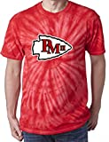 ": The Silo TIE DIE RED Kansas City Mahomes ""LOGO"" T-Shirt"