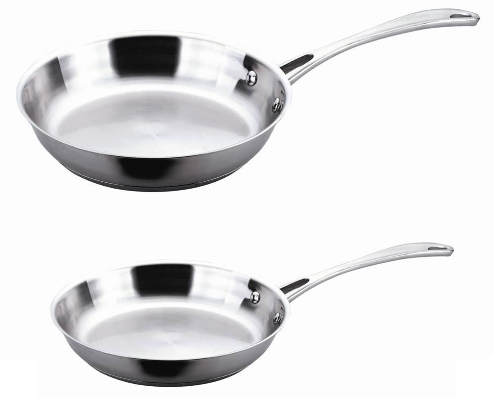 Berghoff Copper Clad 2-Piece Fry Pan Set