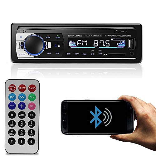 Radio Automotivo MP3 Bluetooth 4x60W LM Eletronics USB Aux. SD Equalizador