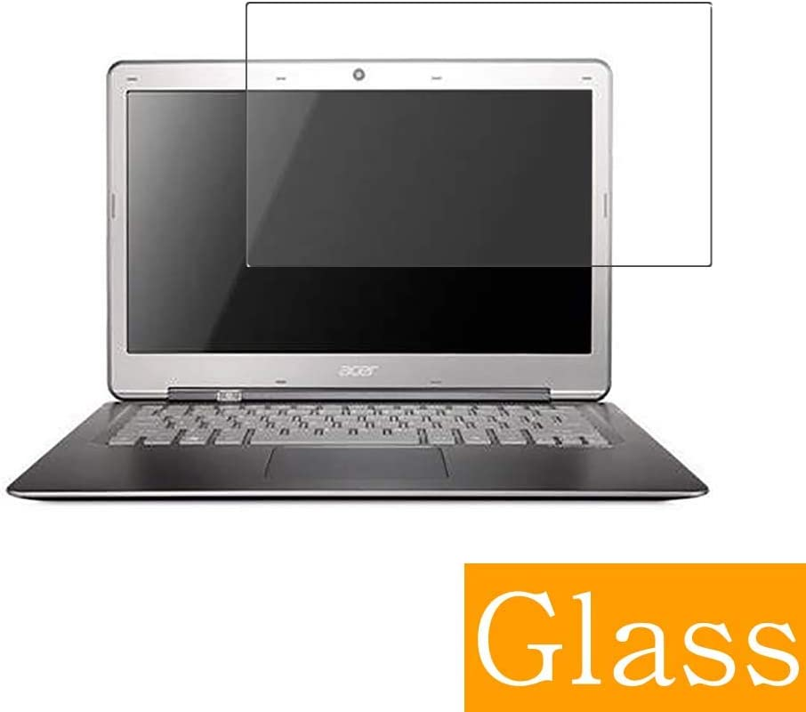 """Synvy Tempered Glass Screen Protector for ACER Aspire S3-951 13.3"""" Visible Area 9H Protective Screen Film Protectors (Not Full Coverage)"""