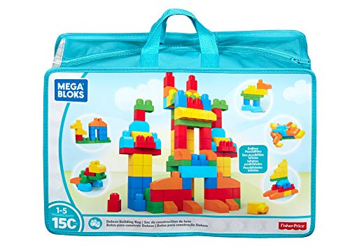 (Mega Bloks Deluxe Building Bag 150-Piece [Amazon Exclusive])