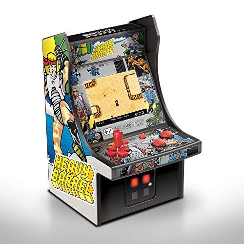 My Arcade Heavy Barrel Micro Player - 6.75 Inch Mini Retro Arcade Machine Cabinet - Licensed Collectible