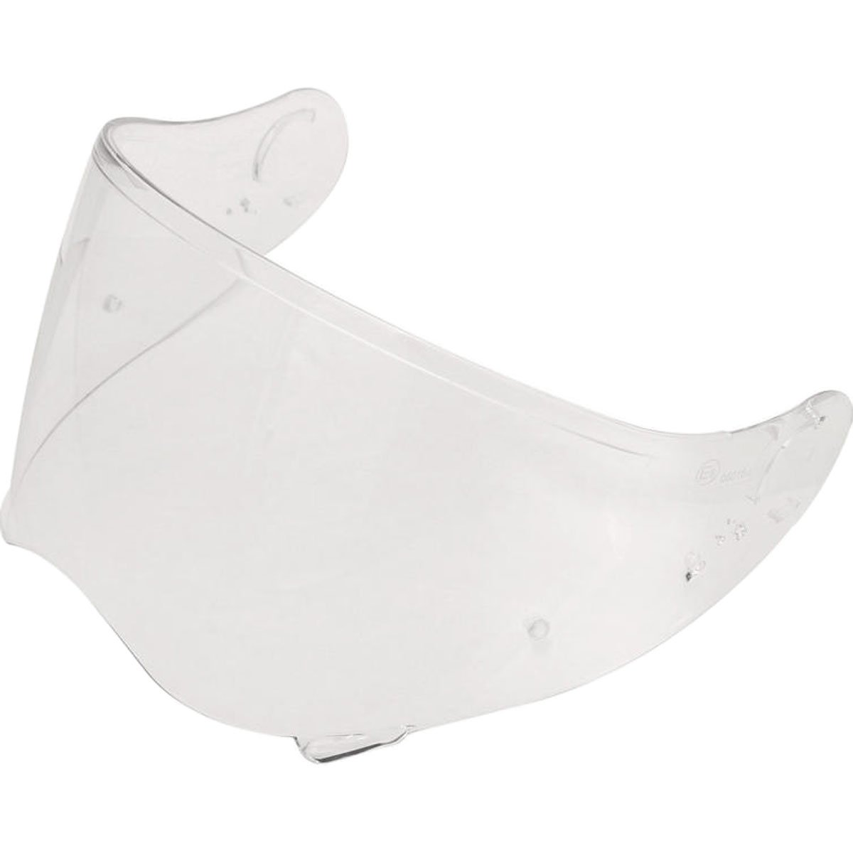 Shoei CNS-2 Visor Off-Road Motorcycle Helmet Accessories - Clear/One Size