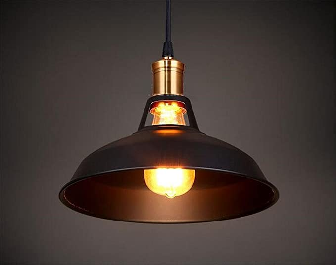 Plafoniere Industriali Vintage : E27 vintage ciondolo luci di bronzo plafoniere lampade industriali