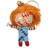 Chucky Horror Voodoo String Doll Keychain Lucky Charm