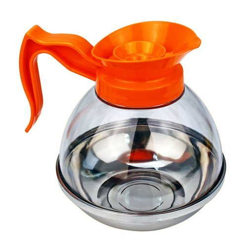 (Foodservice Essentials (CD-64PO) Decaf Coffee Decanter (64-Ounce, Polycarbonate, Orange))