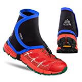 Azarxis Low Trail Gaiters Protective Shoe Covers Wrapid Gators for Men & Women & Youth Running Hiking Climbing