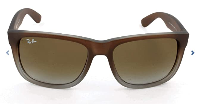 Ray-Ban Justin RB4165 - Gafas de sol Unisex, Marrón (Brown 854/7Z), 55 mm