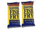 Zatarain's New Orleans Style Seasoned Fish Fri Mix 10 oz (Pack of 2)
