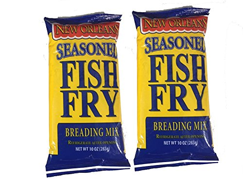 Zatarain's New Orleans Style Seasoned Fish Fri Mix 10 oz (Pack of 2)