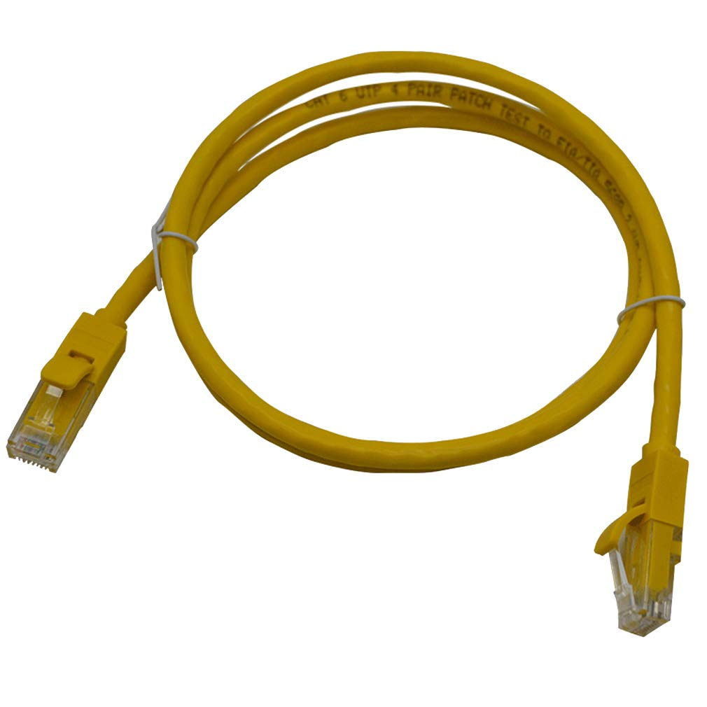 , Yellow 3m 10 Feet SIUONI CAT6 Ethernet Cable LAN RJ45 Network Patch Internet Cable Connectors for Router//PC//Laptop/& More -2 Pack