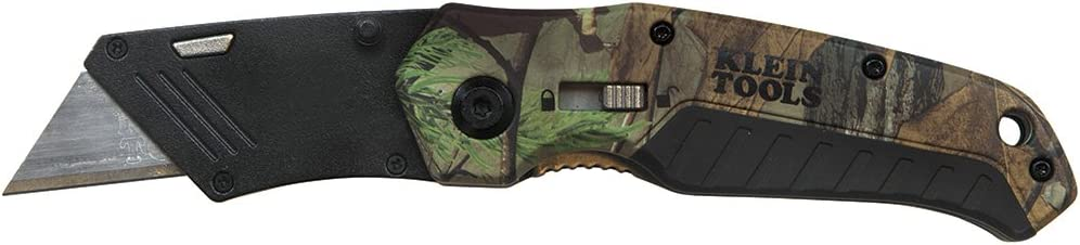 Folding Utility Knife Camo Assisted-Open Klein Tools 44135