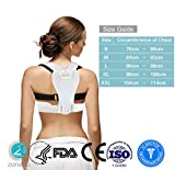 Appliances Packages Samsung Best Deals - Zone - 365 Posture Corrector - Shoulder Support Brace - Figure 8 Clavicle Therapy - Improve Hunched Back (Large)