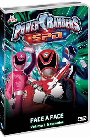 Power Rangers S.P.D. - Vol. 1 [Francia] [DVD]: Amazon.es: Mark Beesley, Charlie Haskell: Cine y Series TV