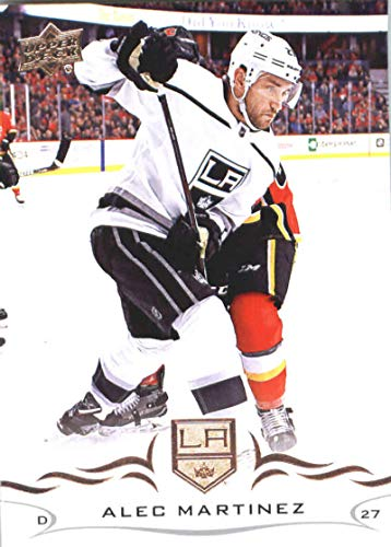 (2018-19 Upper Deck #84 Alec Martinez Los Angeles Kings Hockey Card)
