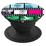 Movie Floral Filmstrip 3 - PopSockets Grip and Stand for Phones and Tablets