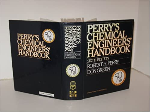 Perrys Chemical Engineering Handbook 6th Edition Pdf