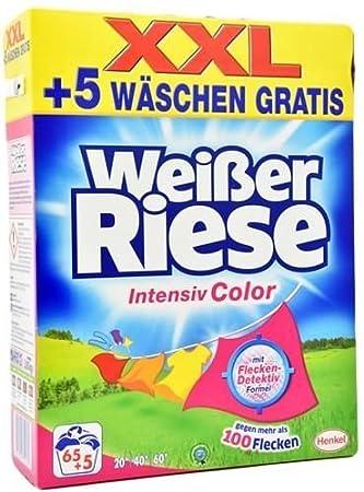 Detergente Weisser gigante Fuerza polvo Color 70 WL: Amazon ...