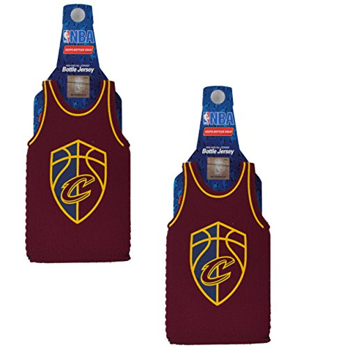 Official National Basketball Association Fan Shop Authentic NBA Insulated Bottle Team Jersey Cooler (Cleveland Cavaliers v2)