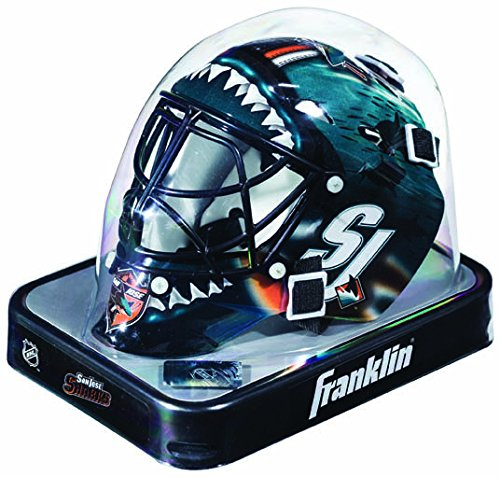 San Jose Sharks Helmet Replica Mini Goalie Style