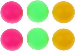 Baoblaze 6 x Balle de Décoration Fête Carnivale Tennis de Table Ping Pong Beer Pong - 36mm 36 mm