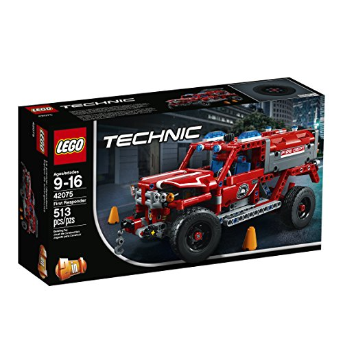 51g KkPGzrL - LEGO Technic First Responder 42075 Building Kit (513 Pieces)