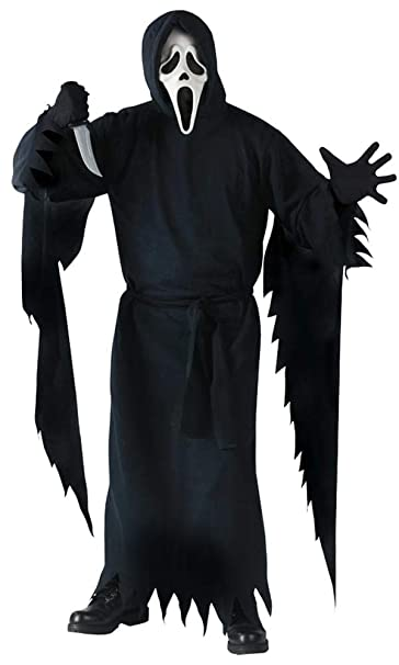 19ab6b34231 Scary Scream Ghost Face Plus Size Costume