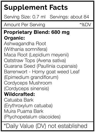 Secrets Of The Tribe - Libido Secret, Herbal Supplement Blend Drops Alcohol-Free Liquid Extract, Sexual Health Formula (2 fl oz)