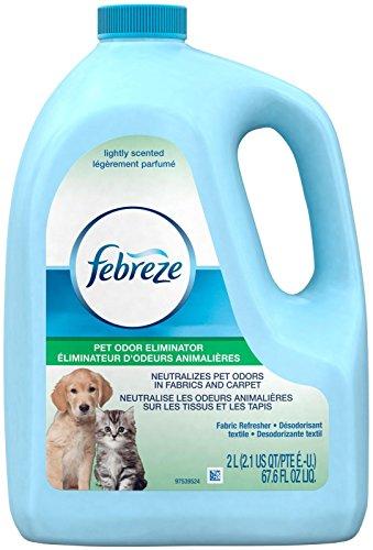 (Febreze Fabric Refresher Pet Odor Eliminator Air Freshener (1 Count, 67.6 FL Oz), 4.409 Pound)