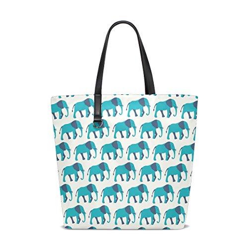 Única Talla Para Al Bolso Mujer Tote 001 Hombro Elephant Bennigiry Animal wRqv6Uxv