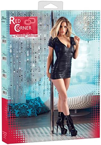 Red Corner 27145821041 Kleid, L, schwarz