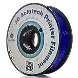 3D Solutech Navy Blue 3D Printer PLA Filament 1.75MM Filament, Dimensional Accuracy +/- 0.03 mm, 2.2 LBS (1.0KG) - 100% USA