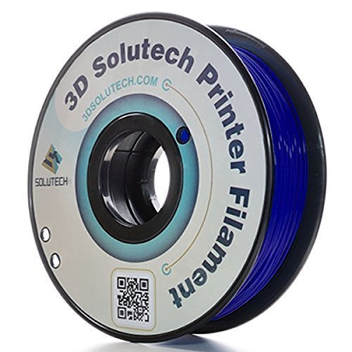 3D Solutech Navy Blue 3D Printer PLA Filament 1.75MM Filament, Dimensional Accuracy +/- 0.03 mm, 2.2 LBS (1.0KG) - 100% USA by 3D Solutech