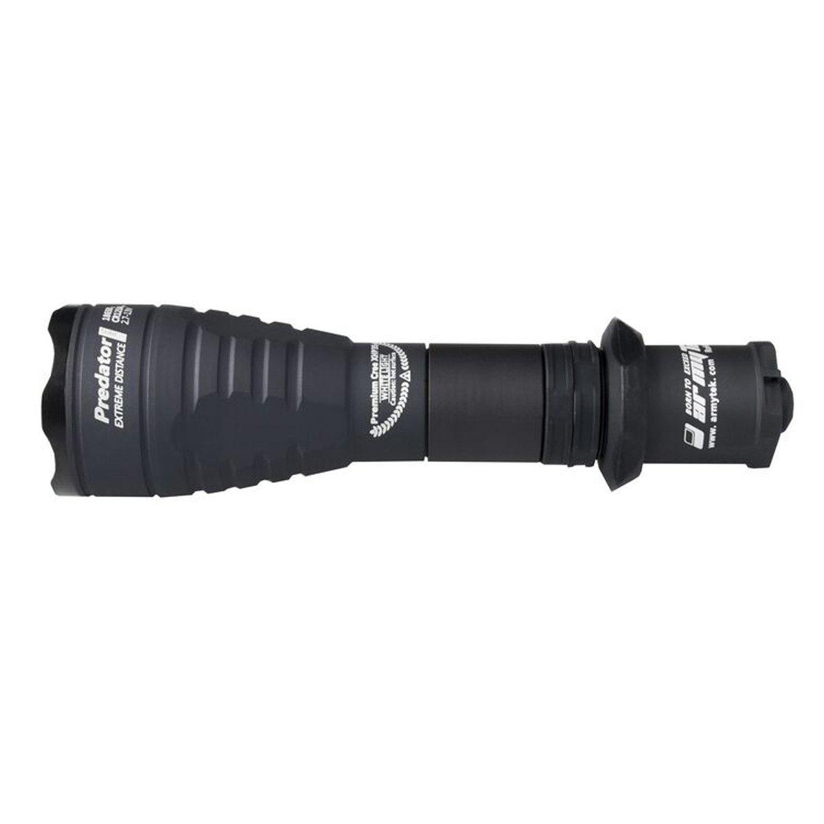 Armytek PROTator Pro XHP35 HI LED (warm) - 1570 LED Lumen - Taschenlampe mit Holster, Clip & Schlaufe