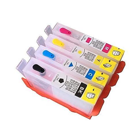 para HP178 178XL Recarga Cartucho de Tinta para HP 178 Photosmart ...