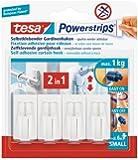 Tesa 58034 Powerstrips Tesa Vario- Ganci per tende (confezione a 4)