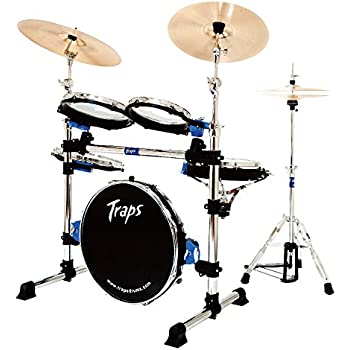 traps drums a400 portable acoustic drum set musical instruments. Black Bedroom Furniture Sets. Home Design Ideas