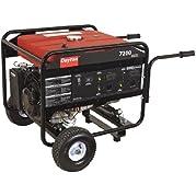 Dayton - GEN-8000-0GRE - Portable Generator, Rated Watts7200, 420cc