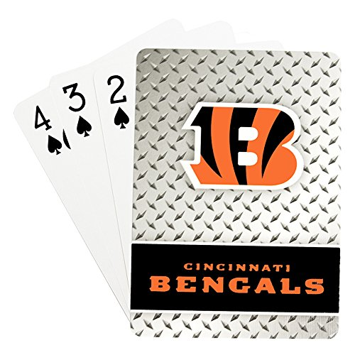 Cincinnati Bengals Playing Cards Diamond Plate - Bengals Card