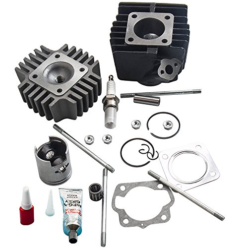 maXpeedingrods Cylinder Piston Head Kits for SUZUKI ALT50 2002-2005, LT50 1984-1987, JR50 1978-2006