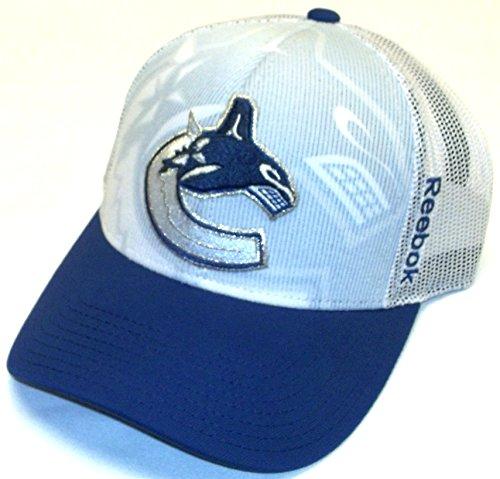 Vancouver Canucks Reebok NHL 2014 Adjustable Official Player Draft Hat