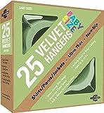 Closet Complete Baby Velvet Perchas ultra delgadas antideslizantes.