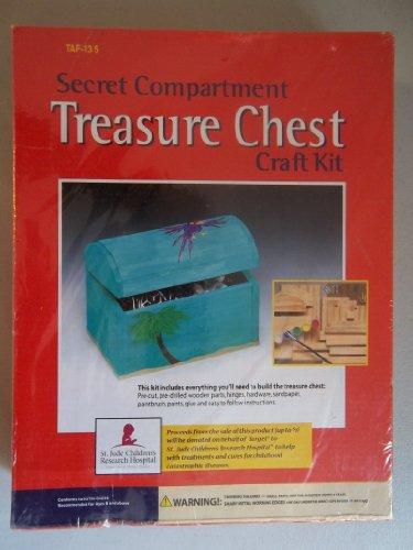 Tim Allen Secret Compartment Treasure Chest Craft Kit - Compartment Chest