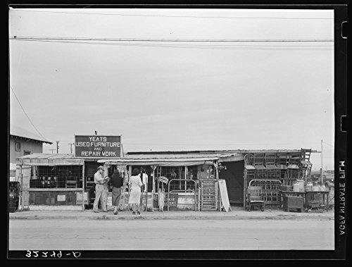 Secondhand furniture store. Corpus Christi, Texas