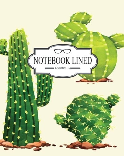"Download Notebook: Artistc pack of watercolor cactus V1 : Notebook Journal Diary, 120 pages, 8"" x 10"" (Notebook Lined,Blank No Lined) PDF"