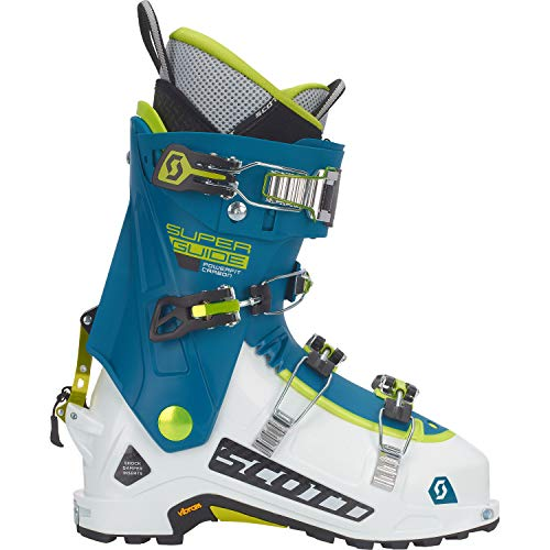 Scott SuperGuide Carbon Alpine Touring Boot White/Maui Blue, 27.5