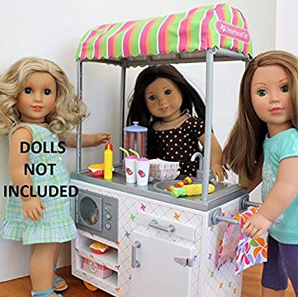 "American Girl 18"" Doll Ice Cream Cone ONLY From Campus Snack Cart"